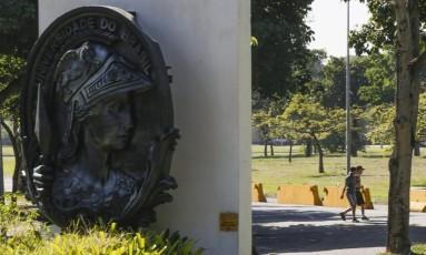 O campus da UFRJ, na Ilha do Fundão Foto: Gabriel de Paiva / O Globo