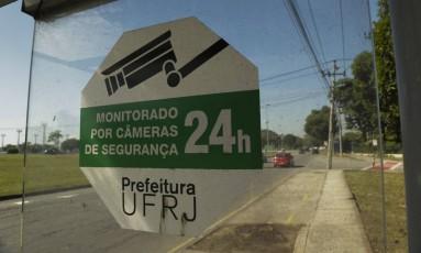 Segurança do campus do Fundão da UFRJ é questionada após onda de violência Foto: Gabriel de Paiva / Agência O Globo