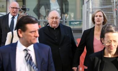 O arcebispo Philip Wilson afirmou não se lembrar do teor da conversa com as vítimas de abuso Foto: PETER LORIMER / AAPIMAGE
