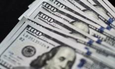 Dólar, a moeda oficial dos Estados Unidos Foto: Xaume Olleros / Bloomberg
