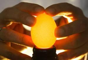O consumo moderado de ovos pode reduzir os riscos de doenças cardíacas, mas o que importa é a dieta como um todo Foto: David Cheskin / AFP