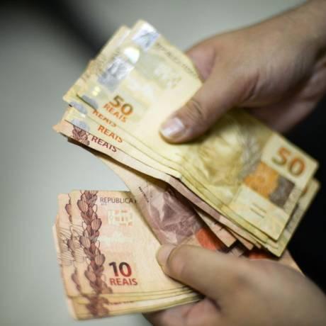 Real, a moeda oficial do Brasil Foto: Marcello Casal Júnior / Arquivo