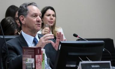 O ministro João Otávio de Noronha, durante sessão do STJ Foto: Gil Ferreira/Agência CNJ