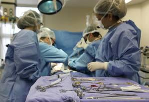 Bebê recebeu coração de criança que teve morte encefálica Foto: Secretaria de Estado de Saúde / Divulgação