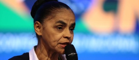 Pré-candidata da Rede, Marina Silva participa da 21ª Marcha a Brasília Foto: Jorge William / Agência O Globo