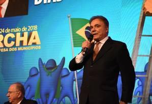 Alvaro Dias, pré-candidato a presidente pelo Podemos, na 21ª Marcha a Brasília Foto: Thati A. Martins/Divulgação