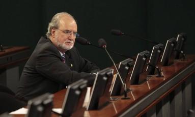 Eduardo Azeredo, quando era deputado federal, em Brasília 12/11/2013 Foto: Jorge William / Agência O Globo