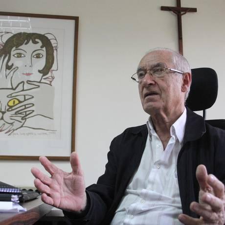 Luis María Ugalde, teólogo e historiador jesuíta venezuelano Foto: ALEXANDRA BLANCO / ALEXANDRA BLANCO / EL NACIONAL