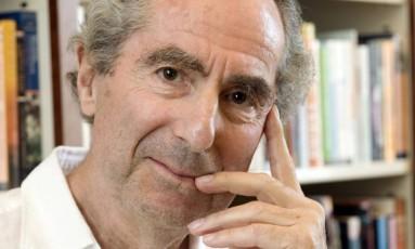 O escritor americano Philip Roth Foto: Richard Drew / AP