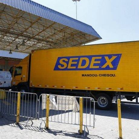 Entregas de Sedex: serviço está temporariamente suspenso em todo o país Foto: Pablo Jacob / 12.03.2018 / Agência O Globo