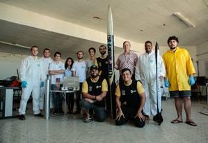 Grupo reúne estudantes de diferentes cursos da universidade Foto: Brenno Carvalho / Agência O Globo