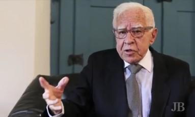 """Manuel Borges Neto, o português que zelava pela língua no velho """"JB"""" Foto: Reprodução da internet"""
