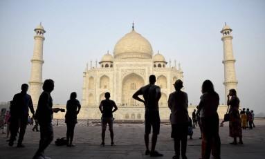 Taj Mahal, na Índia Foto: R.S. Iyer / AP