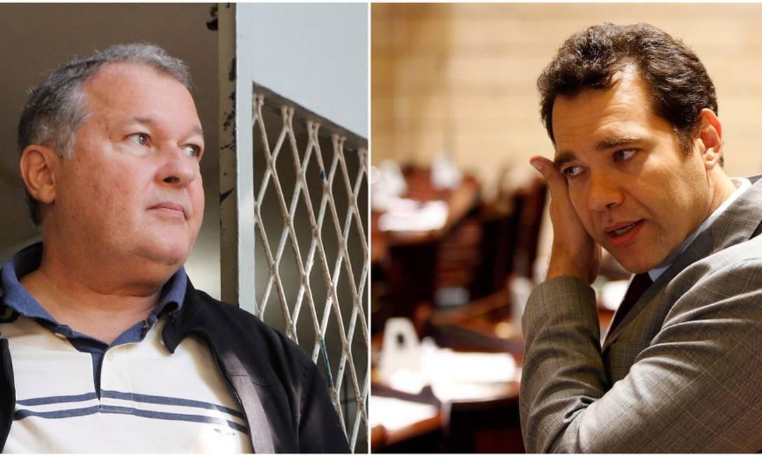 Cesar Benjamin e Paulo Messina trocaram acusações através de rede social Foto: Antonio Scorza 05-07-2017/Marcos de Paula 22-12-2017 / Agência O Globo