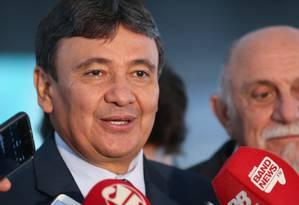 O governador do Piauí, Wellington Dias, durante entrevista Foto: Valter Campanato/Agência Brasil/01-12-2016