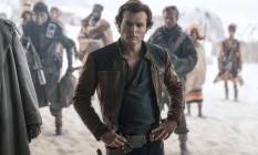 O ator Alden Ehrenreich em cena de 'Han Solo: uma história Star Wars' Foto: Jonathan Olley / Jonathan Olley /Lucasfilm Ltd.