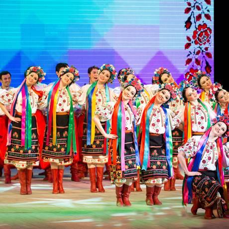 Grupo russo apresenta danças típicas de sua terra natal Foto: Divulgação/Eduard Dil'mukhametov