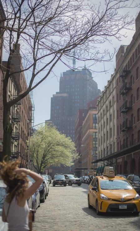 A primavera marca também a chegada de temperaturas mais amenas à cidade Foto: Daniel Marenco / O Globo