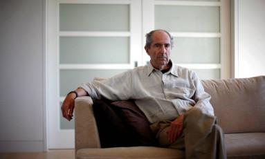 Philip Roth em Nova York, em setembro de 2010 A Foto: ERIC THAYER / REUTERS