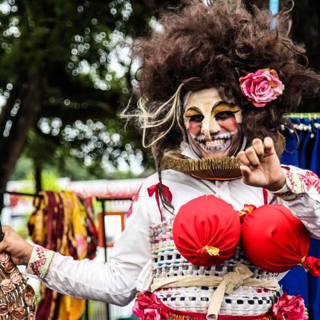 Cena do espetáculo 'Os Cavaleiros da Triste Figura', do Grupo Teatral Boca de Cena Foto: Divulgação