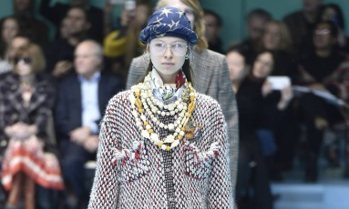 Gucci outono-inverno 2018 Foto: Catwalking / Getty Images