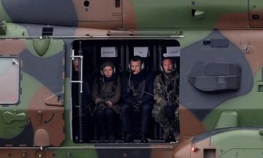 A ministra da Defesa Florance Parly (à esquerda) revelou que os ex-espiões estão detidos desde dezembro de 2017 Foto: Yoan Volat / REUTERS