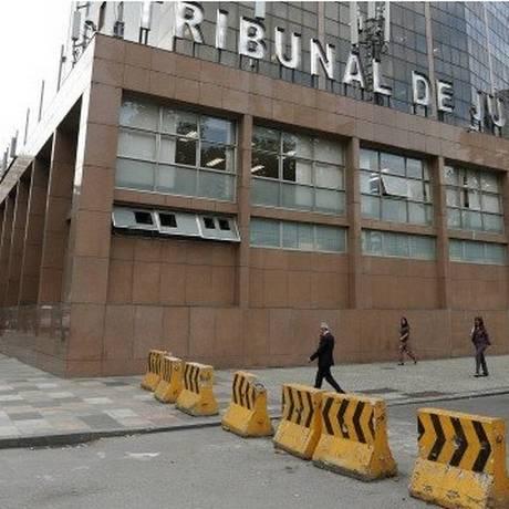 Fachada do Tribunal de Justiça do Rio, no Centro do Rio (Arquivo) Foto: Agência O Globo