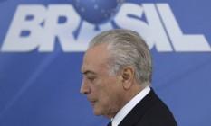 Presidente Michel Temer anunciará nesta sexta-feira o uso das Forças Armadas Foto: Eraldo Peres / AP