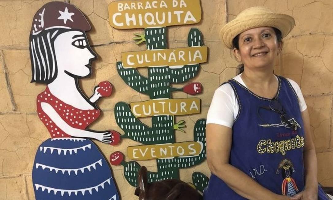 Chiquita está criando um modelo de franquia para a marca Foto: Adalberto Neto / Agência O Globo