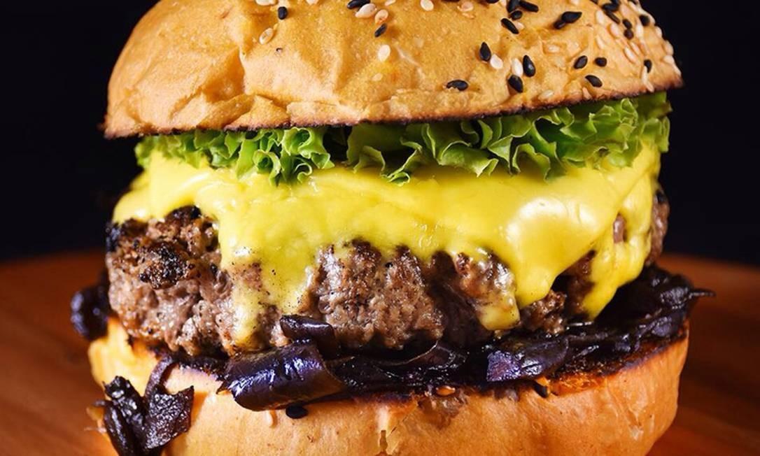 Sanduíche do Bronx Burger Foto: Divulgação