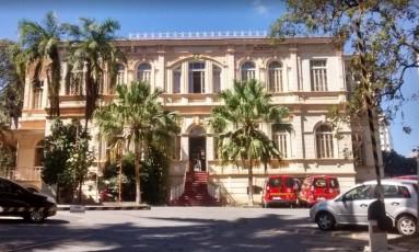 Academia dos Bombeiros em Belo Horizonte, onde Azeredo está preso Foto: Divulgação