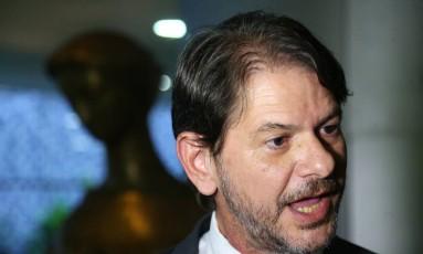 Cid Gomes ainda não decidiu se fica na campanha ou concorre a uma vaga no Senado Foto: Ailton de Freitas / Agência O Globo