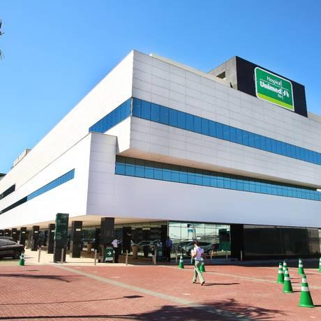  O Hospital da Unimed-Rio, na Barra da Tijuca Foto: Divulgação/2-9-2015