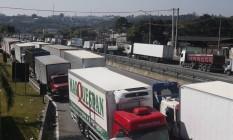 Ainda há bloqueios em várias rodovias do país. Foto: Agência O Globo