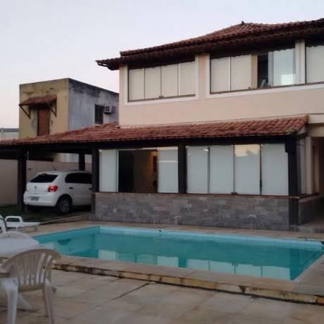 Casa em Cabo Frio de um dos envolvidos no esquema Foto: Reprodujção