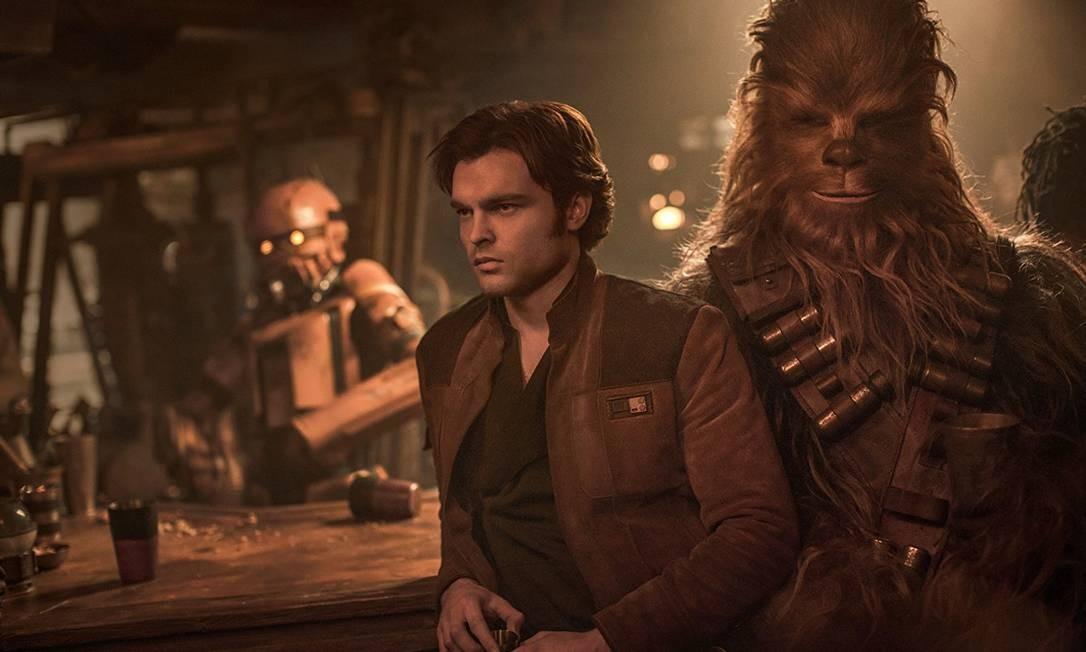 'Han Solo' têm estreia com bilheterias abaixo do esperado Foto: Divulgação