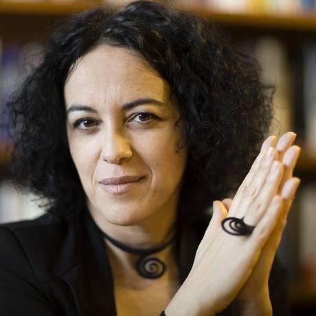 A professora e filósofa Marcia Tiburi é cotada para ser candidata do PT ao governo do Rio Foto: Fernando Lemos / Agência O Globo 20/12/2017