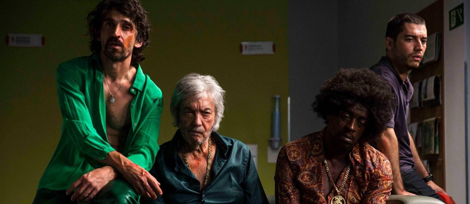 Cena do filme 'Paraíso perdido' Foto: Fabio Braga / Divulgação