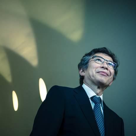 'Uso de robôs como arma deve ser proibido', diz o engenheiro Kazuhiro Kosuge. Foto: Leo Martins / Agência O Globo