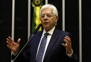 O ministro de Minas e Energia, Moreira Franco Foto: Givaldo Barbosa / Agência O Globo