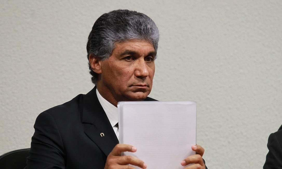 O ex-diretor da Dersa Paulo Vieira de Souza, apontado como operador do PSDB Foto: Aílton de Freitas / agência O GLOBO (29/08/2012)