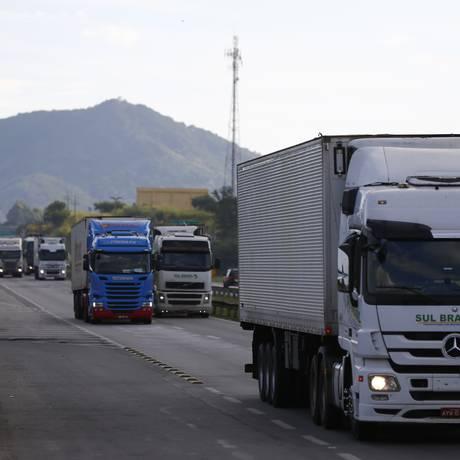 PRF diz que milícia estaria agindo infiltrada nas manifestações de caminhoneiros Foto: Pablo Jacob