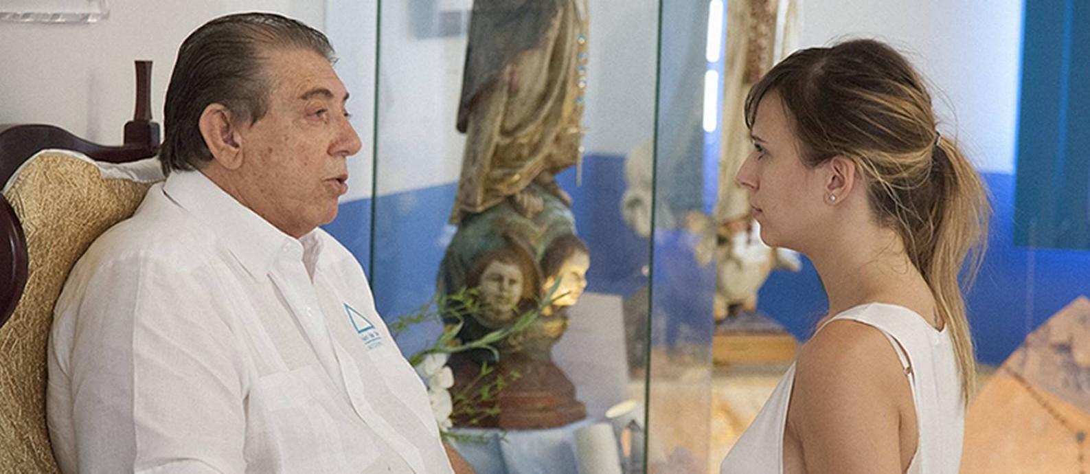 Cena do filme 'João de Deus - O silêncio é uma prece' Foto: Divulgação
