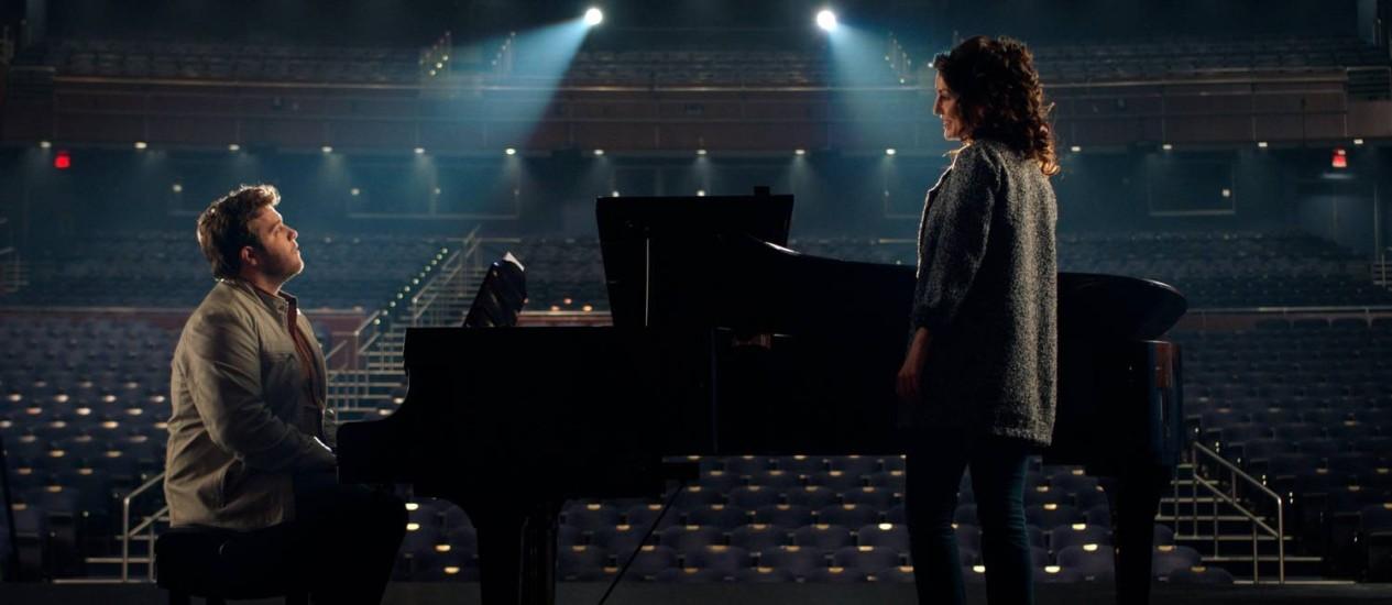 Cena do filme 'Eu só posso imaginar' Foto: Divulgação