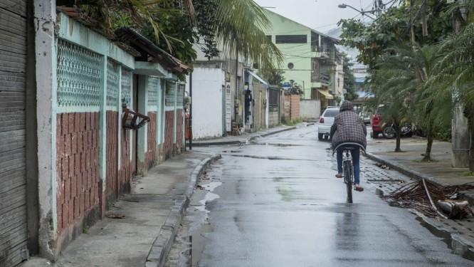 Comunidade Novo Palmares, que busca regularização fundiária Foto: Analice Paron / Agência O Globo