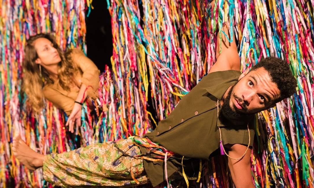 'Geleia Geral', da Cia Crütz Foto: Bernardo Marques