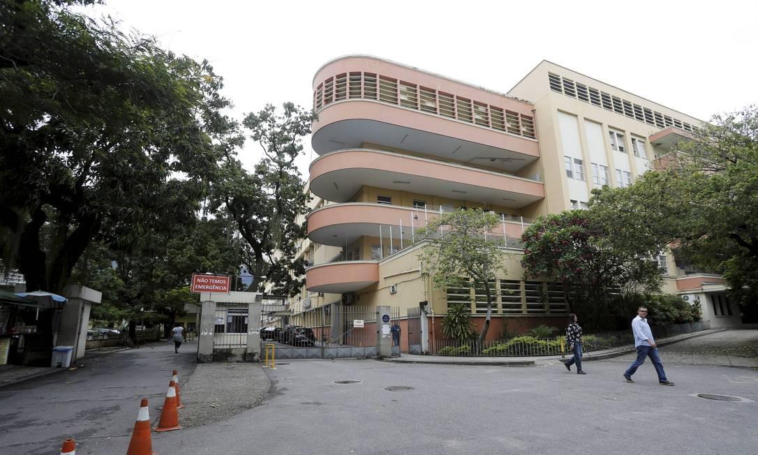 Hospital Universitário Pedro Ernesto, na Zona Norte do Rio Foto: Domingos Peixoto / Agência O Globo