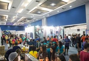 Expo Rio Run. Público estimado no evento é de 70 mil pessoas Foto: Divulgação