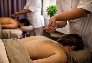 O Grand Hyatt tem opções de day use para o casal, que dão direito a massagem Foto: Tadeu Brunelli / Divulgação