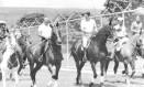 Presidentes João Figueiredo e Ronald Reagan passeiam a cavalo na Granja do Torto, em dezembro de 1982 Foto: Divulgação